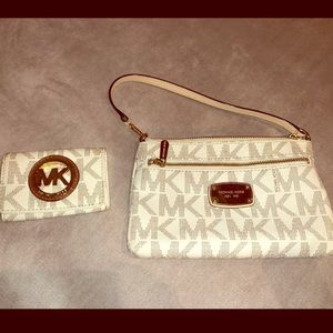 Michael Kohrs clutch and wallet